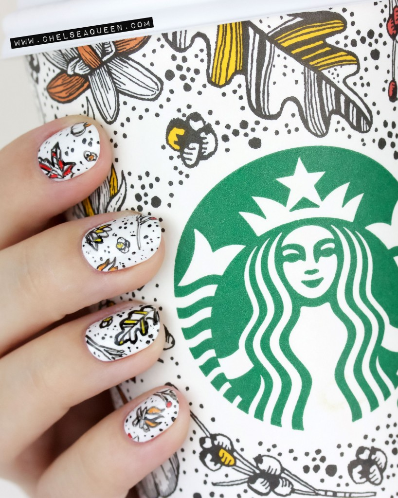 Nails of the Day: The perfect pairing for your PSL