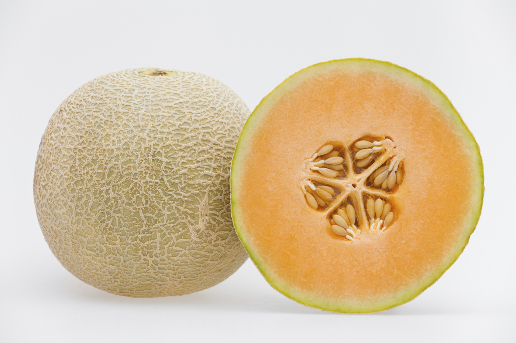 So, you've apparently been cutting cantaloupe all wrong