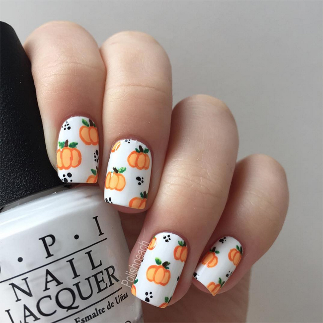 Nails of the Day: Pick a pretty pumpkin