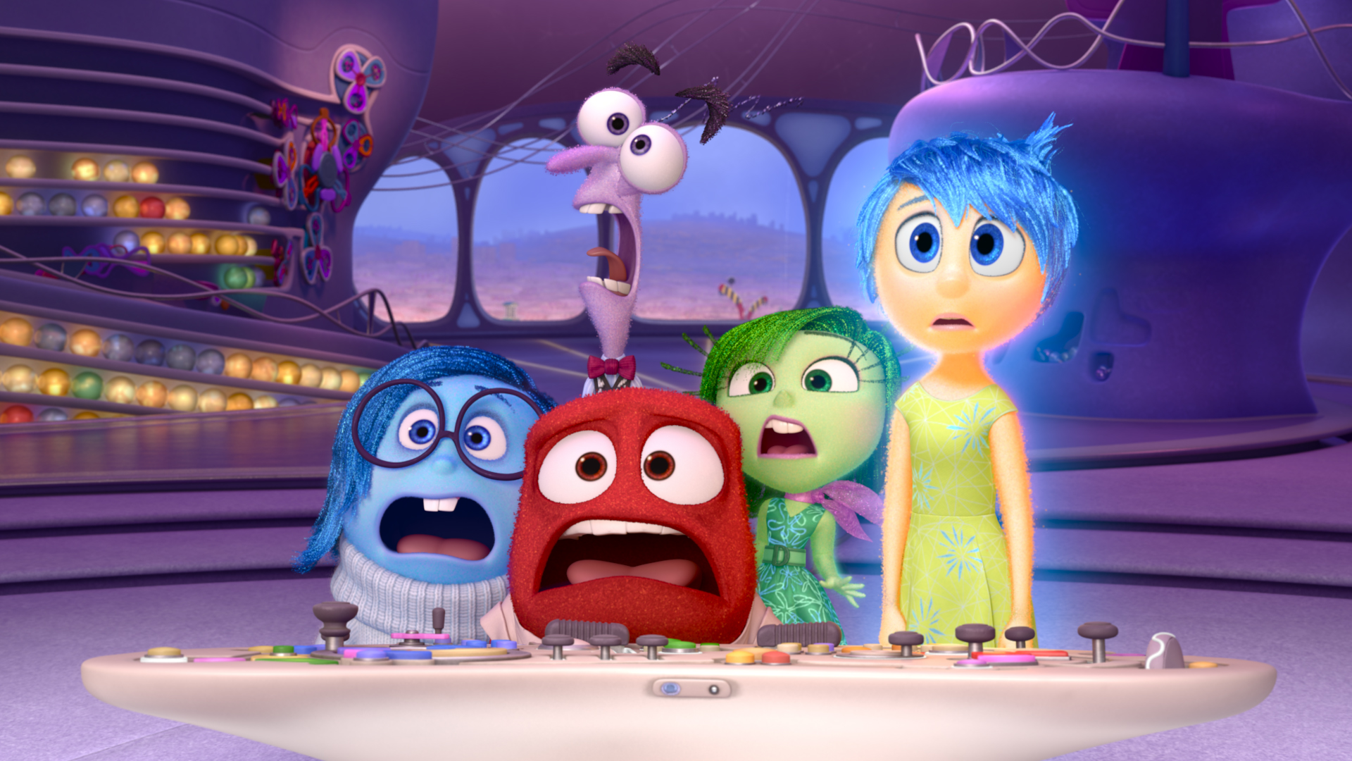 Fangirl alert: Here's a never-before-seen bonus clip from 'Inside Out'