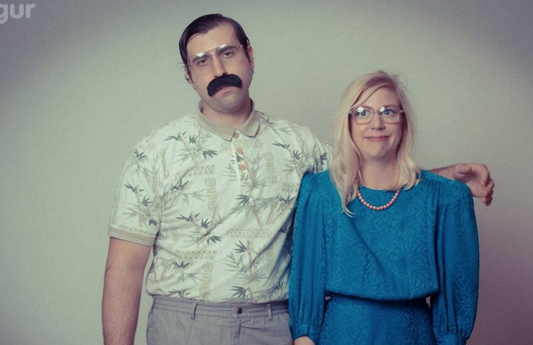 Behold: The most awkwardly delightful engagement photos you will see on the Internet