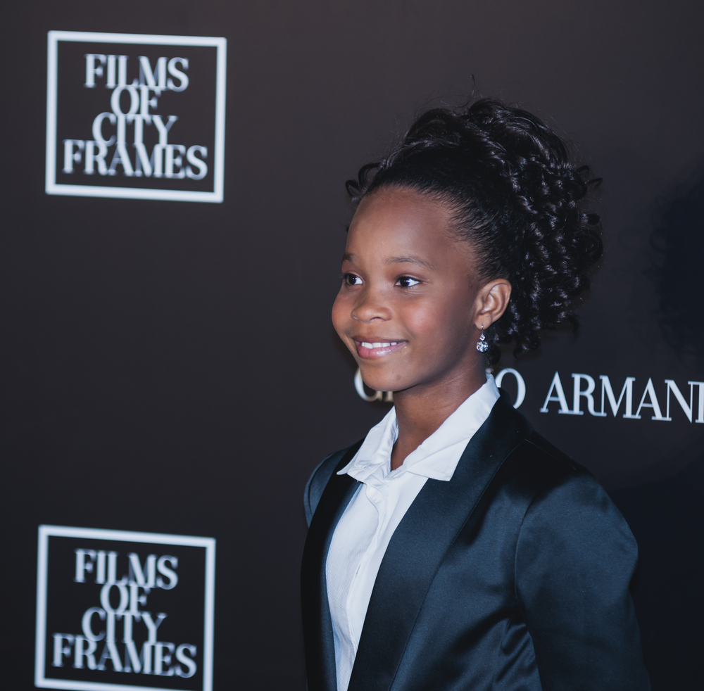 12-year-old Quvenzhané Wallis continues to blow our minds with a rad new project