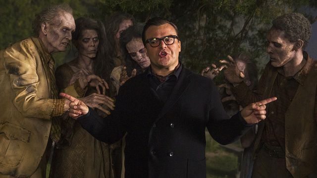 Jack Black just released a Goosebumps-themed rap music video and it's literally everything