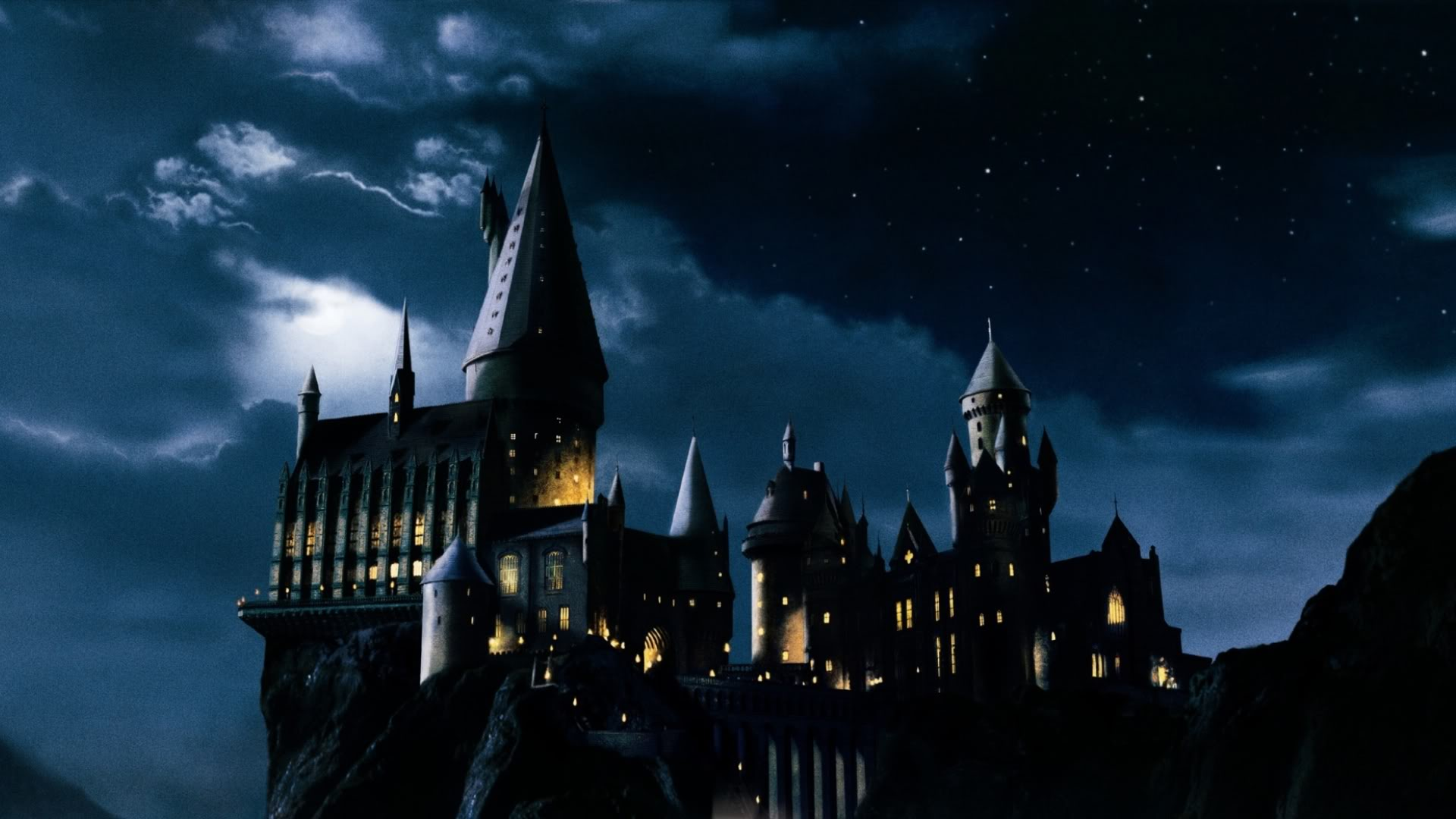Here is Hogwarts like you've never seen it before
