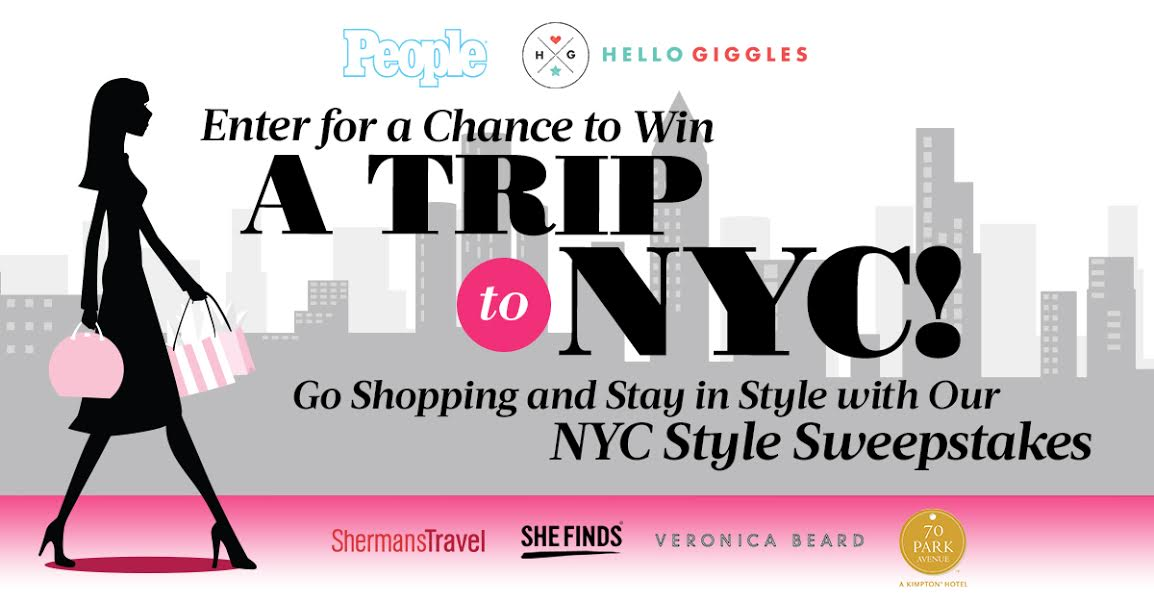 Win a trip to New York with your bestie!