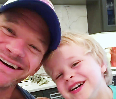 This is what it's like to have breakfast with NPH's family. Spoiler: It's awesome