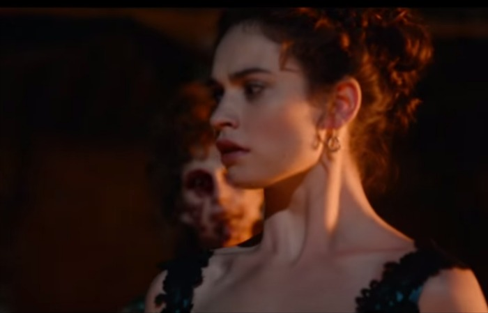 You need to see the first 'Pride and Prejudice and Zombies' trailer