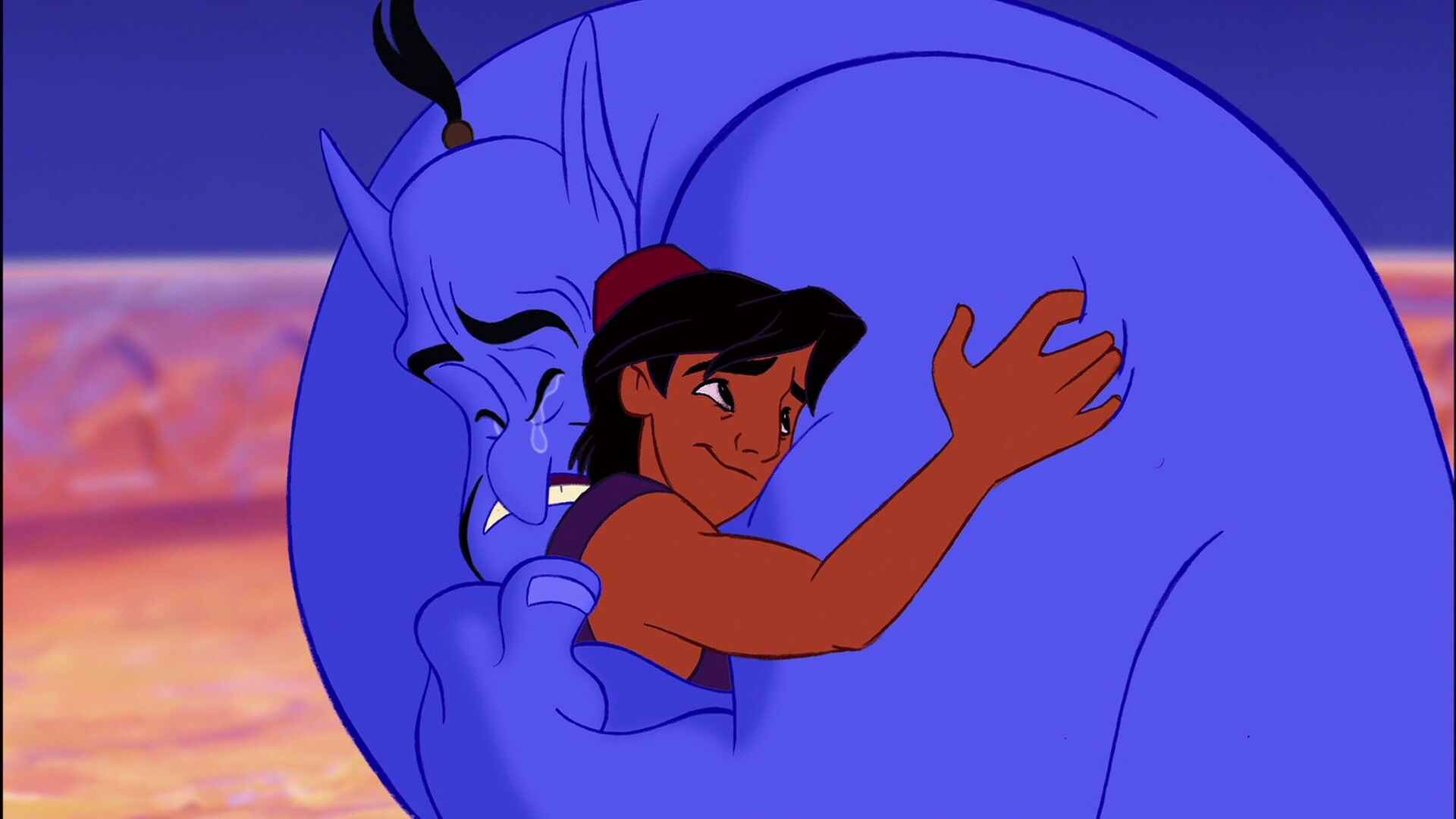 These never-before-seen moments with Robin Williams as Genie in 'Aladdin' are making us weep