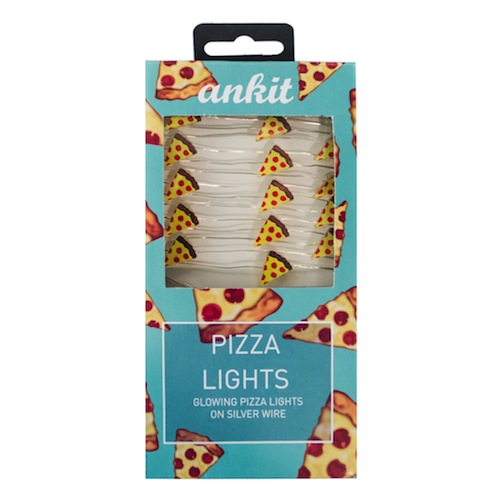 Light up your nights with tiny pizza lights