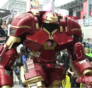 And here's the best costume winner at New York Comic Con