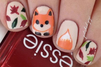 Nails of the Day: Foxy in fall