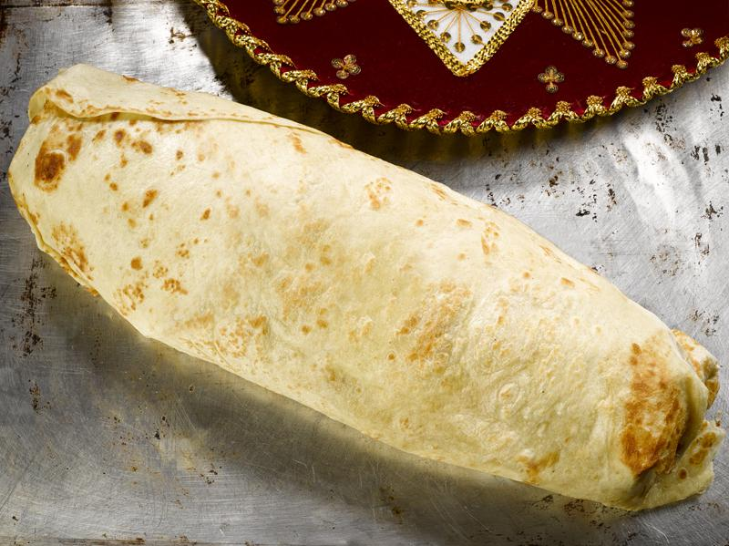 If you can eat this burrito in an hour, you'll own part of a restaurant