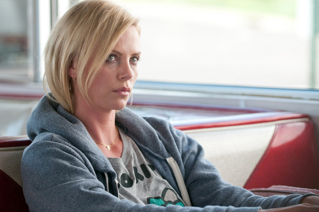 Lady power: Charlize Theron is taking on a part written for Brad Pitt