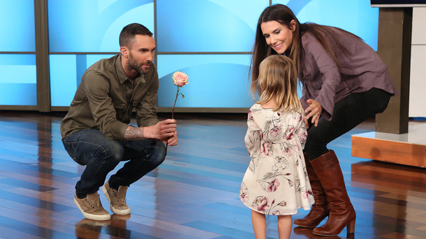The girl who was destroyed when she found out Adam Levine was married, met Adam Levine