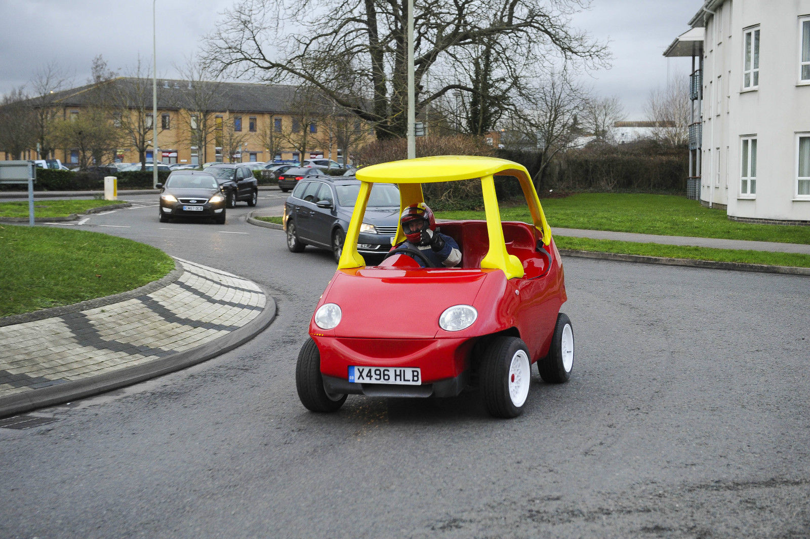 Your favorite childhood toy car is now real and you can drive it