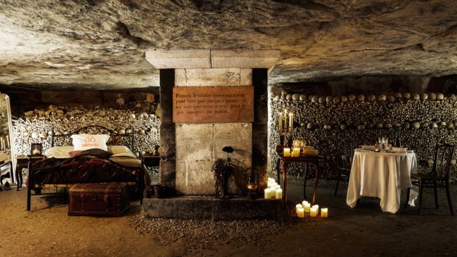 Airbnb is offering the spookiest Halloween prize (it involves the Parisian catacombs)