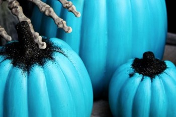 People are putting out teal pumpkins this Halloween — here's what they mean