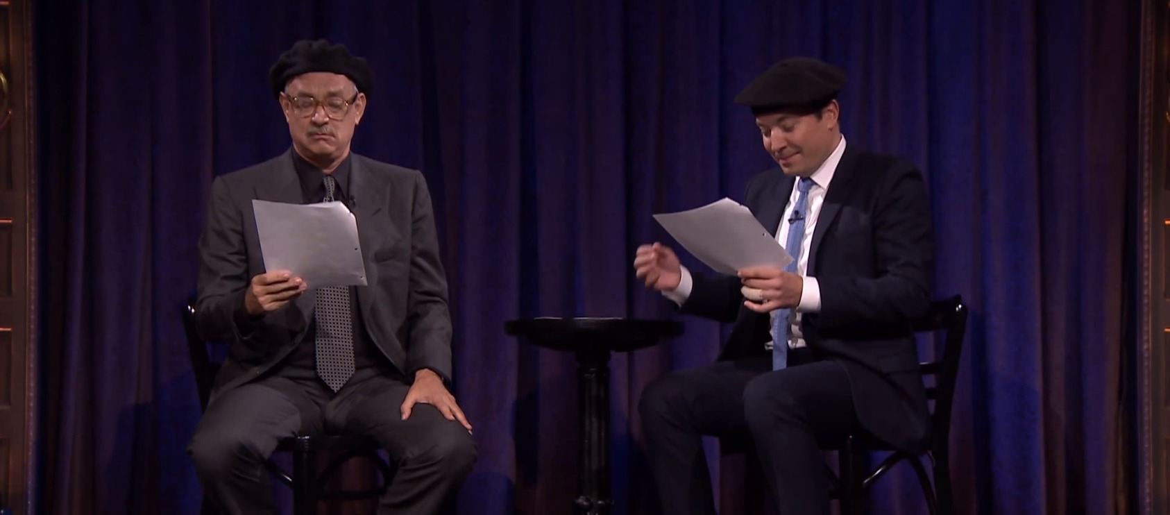 Tom Hanks, spectacular human, just nailed it performing these scripts written by actual kids
