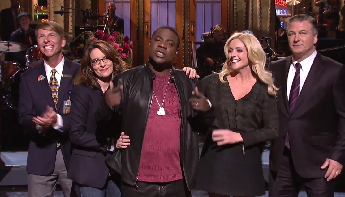 Tracy Morgan's return to 'SNL' was like a '30 Rock' reunion