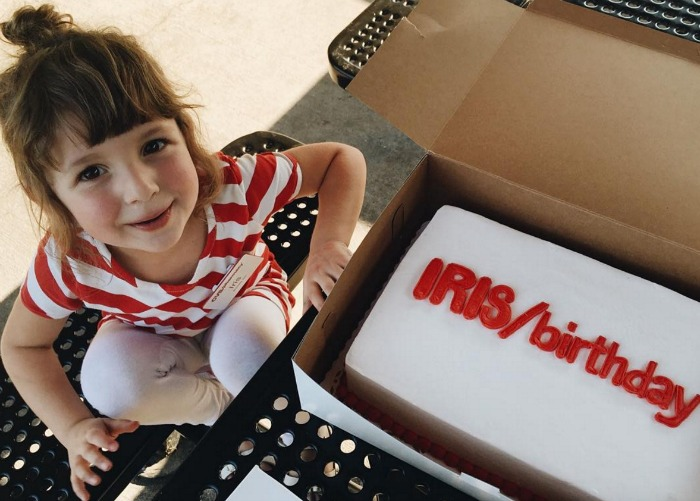 This little girl had a CVS-themed birthday party