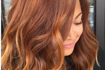 Pumpkin Spice is a hair color trend we can get behind because autumn is the best