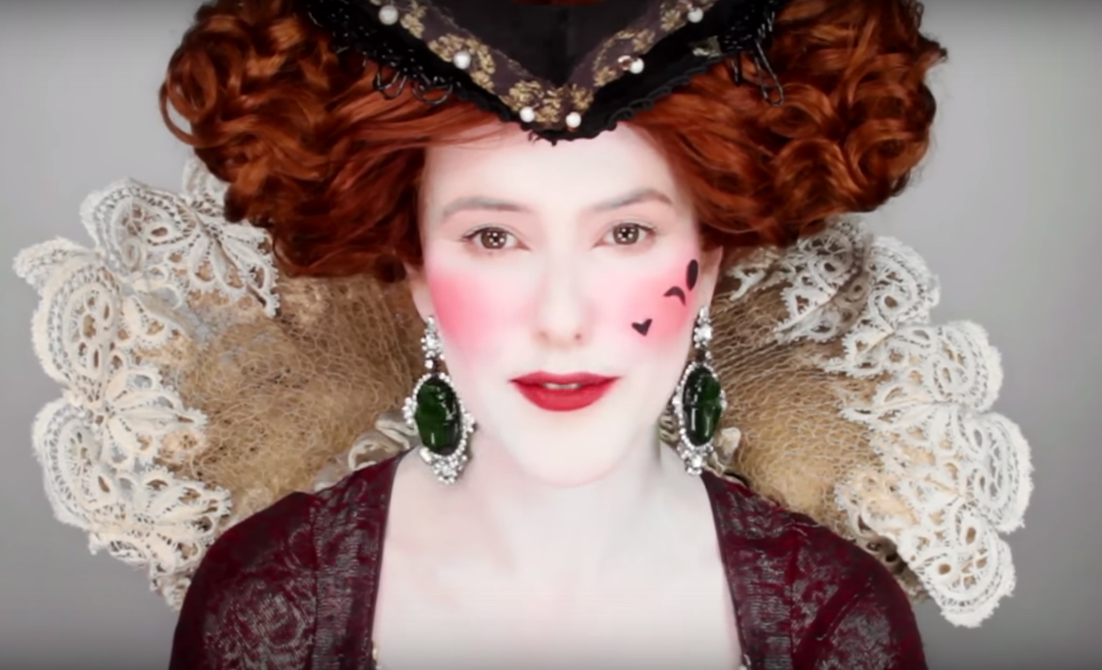 Here's 5,000 years of makeup trends, all in seven minutes