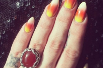Tis the season: Candy-inspired nail art