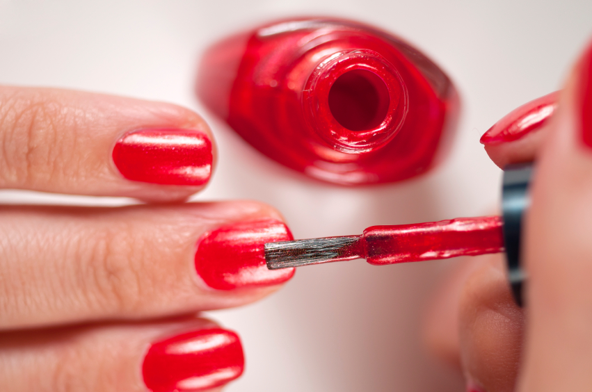 We have some bad news about nail polish