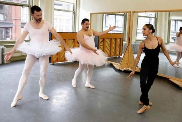 ICYMI: Misty Copeland gives Jimmy Kimmel a ballet lesson, hilarity ensues