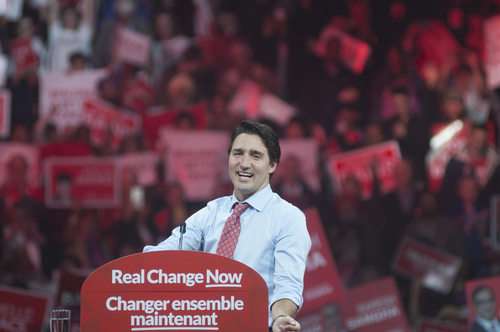 One more reason to love Canada's new prime minister- he's proud to be a feminist
