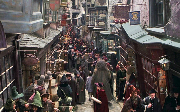 New York is getting it's own real-life Diagon Alley