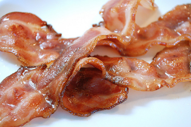 We have bummer news about bacon. *Cries forever*