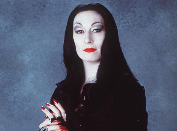 Why we're still crushing hard on Morticia Addams