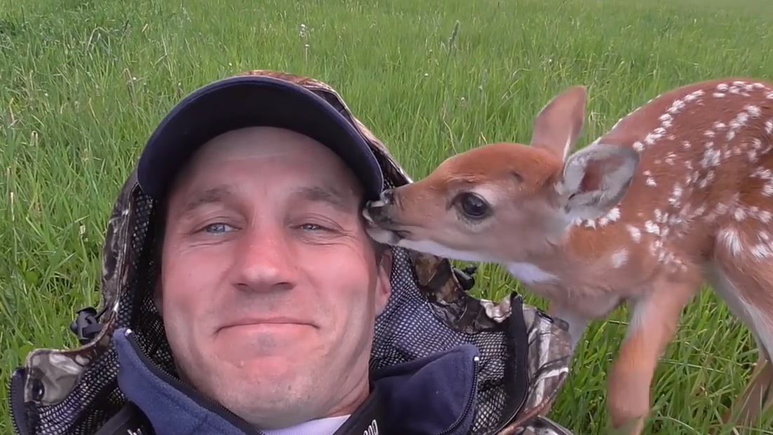 This man saved a baby deer's life. Then she wanted to be his pet forever.