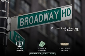 Netflix for Broadway superfans? You have our attention