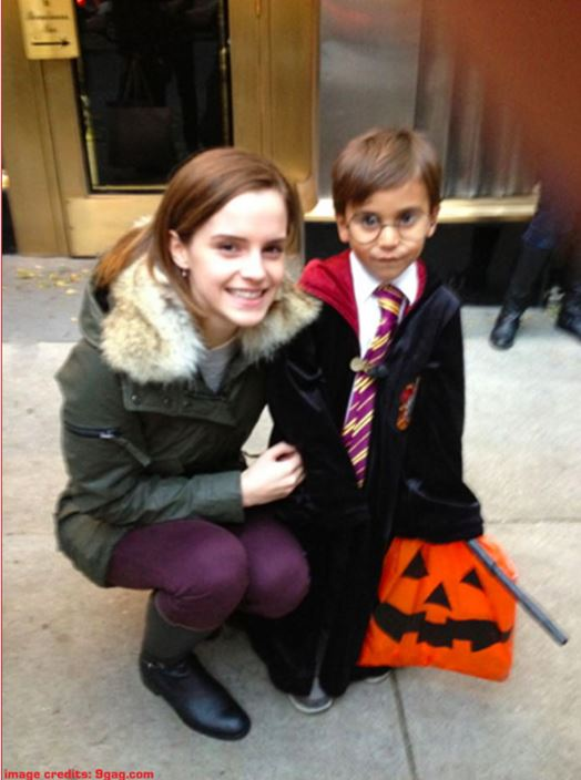 Remembering that time Emma Watson made a 'Harry Potter' fan's Halloween