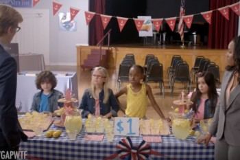 This video of a kid's lemonade stand perfectly sums up the wage gap