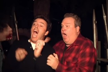 Ellen just sent Eric Stonestreet to a haunted house. Hilarity ensued.