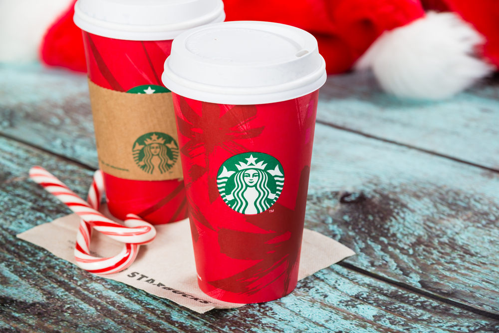 You should totally be excited about Starbucks' new holiday drink