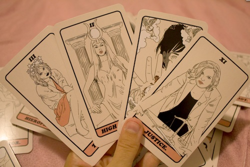 Do Tarot readings with your favorite celeb goddesses