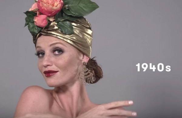The latest 100 years of beauty video features Brazilian beauty