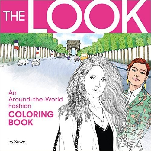 A coloring book for fashion lovers everywhere