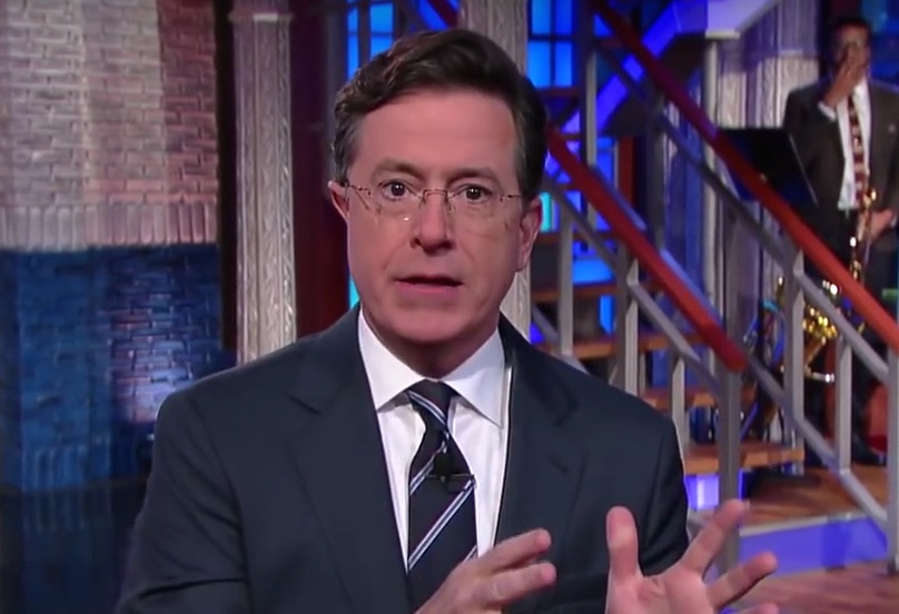 Stephen Colbert just got into the fan theory game with these 'Star Wars' predictions