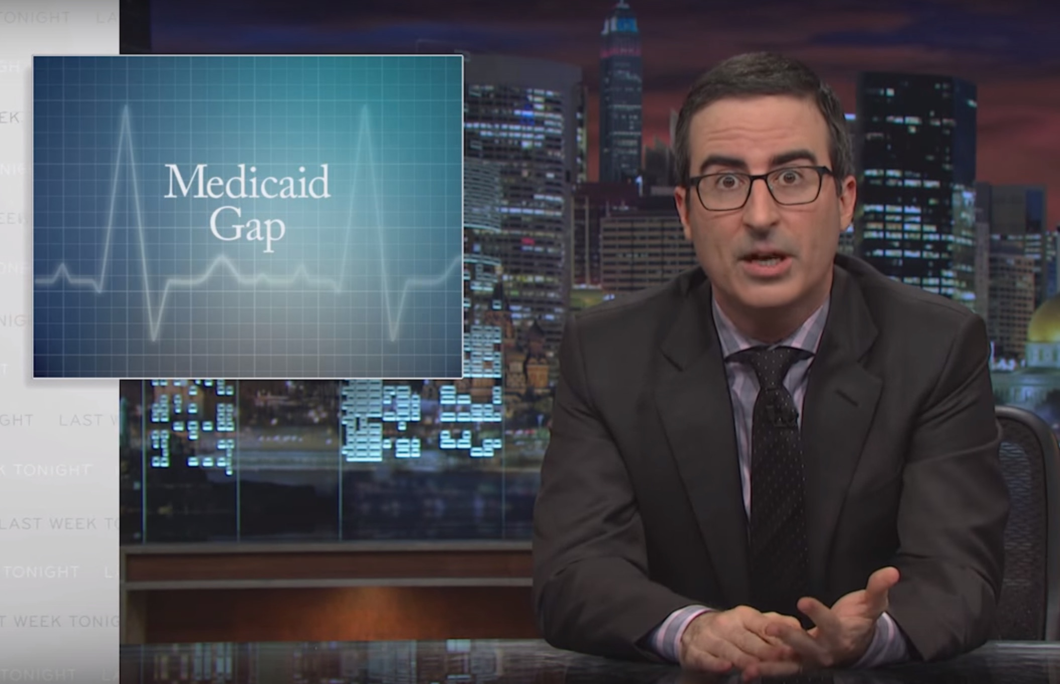 John Oliver explains why this week's election is actually super-important