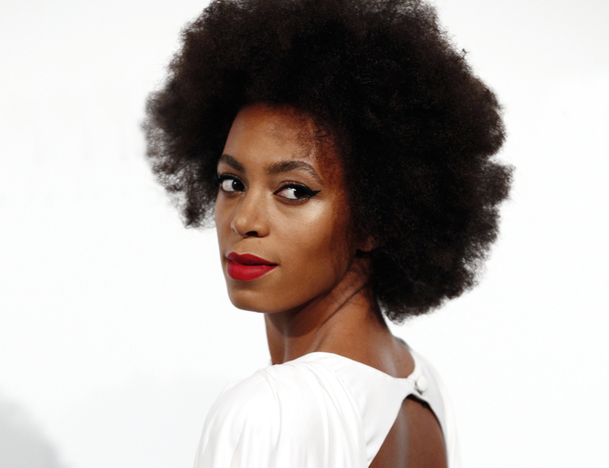 """Solange had a flawless response when someone called her son """"ugly"""""""