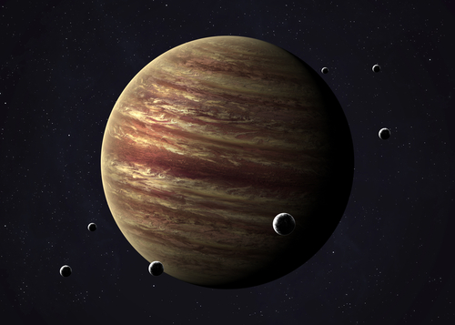 Sooooo... it looks like Jupiter totally mean girl-ed a planet out of our Solar System