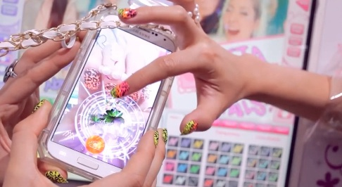 This new app is being called Snapchat for your nails, so we're intrigued