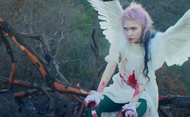 Time travel, celestial beings, and sugar pop: The weird, wonderful world of Grimes' 'Art Angels'