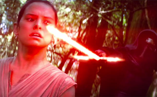 The international 'The Force Awakens' trailer has some for serious OMG moments