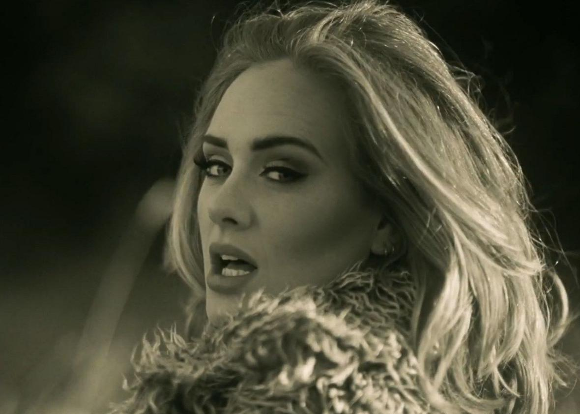 Adele says 'Hello'... and this toddler hilariously carries on other end of conversation